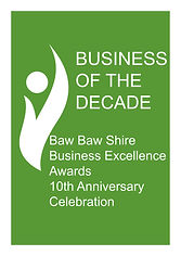 Business of the Decade Award