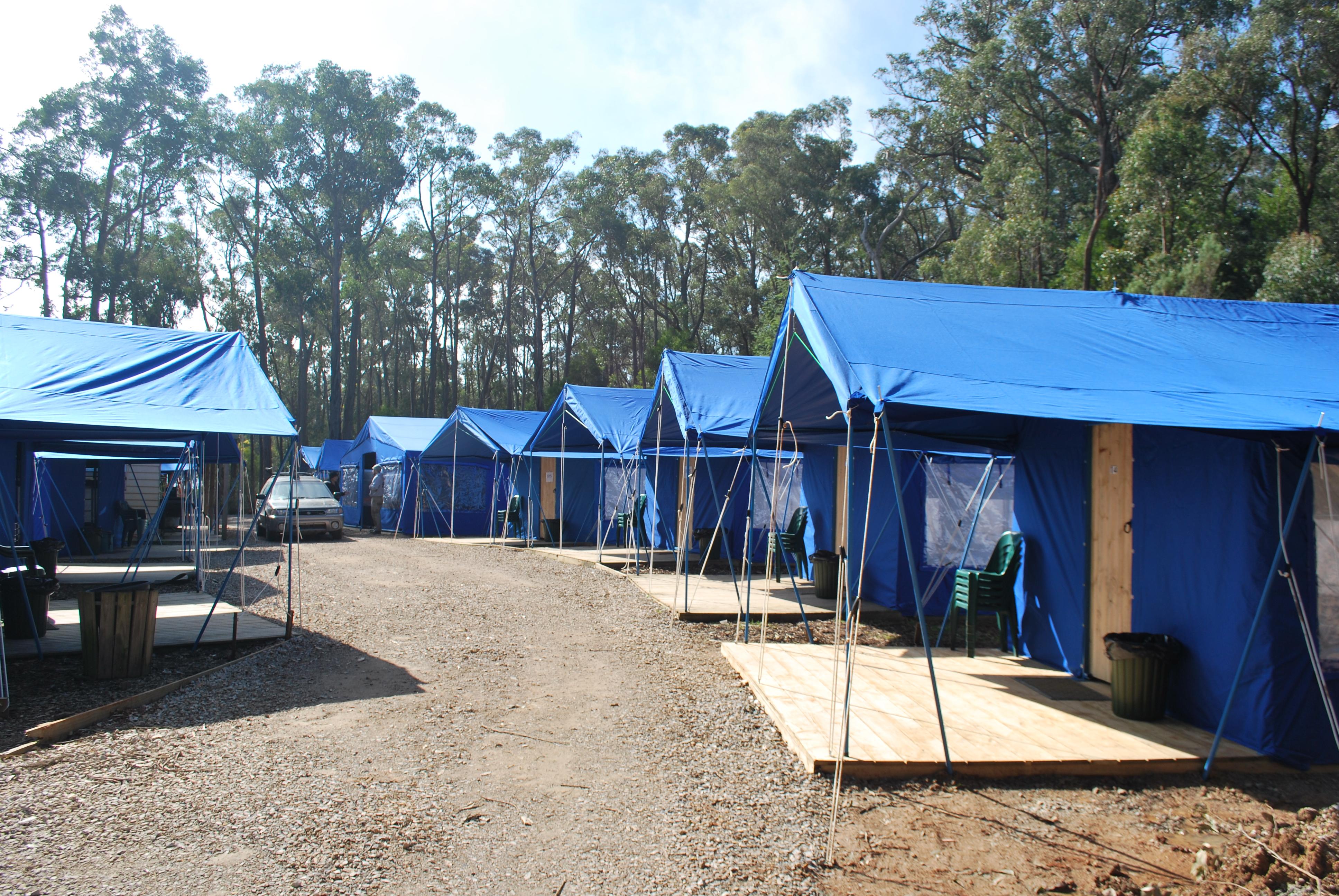 Tent Village & The Summit Adventure Park - School Groups Accommodation