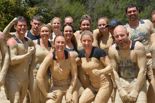 Mud Run Group Summit Survivor