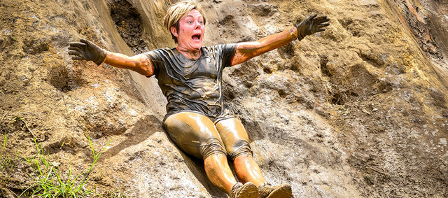 Mud Slide Obstacle Summit Survivor