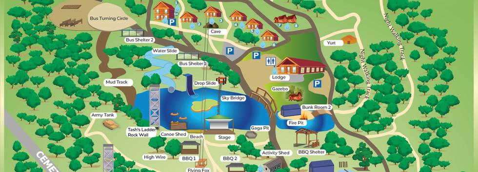 Luxury Accommodation - The Summit Map