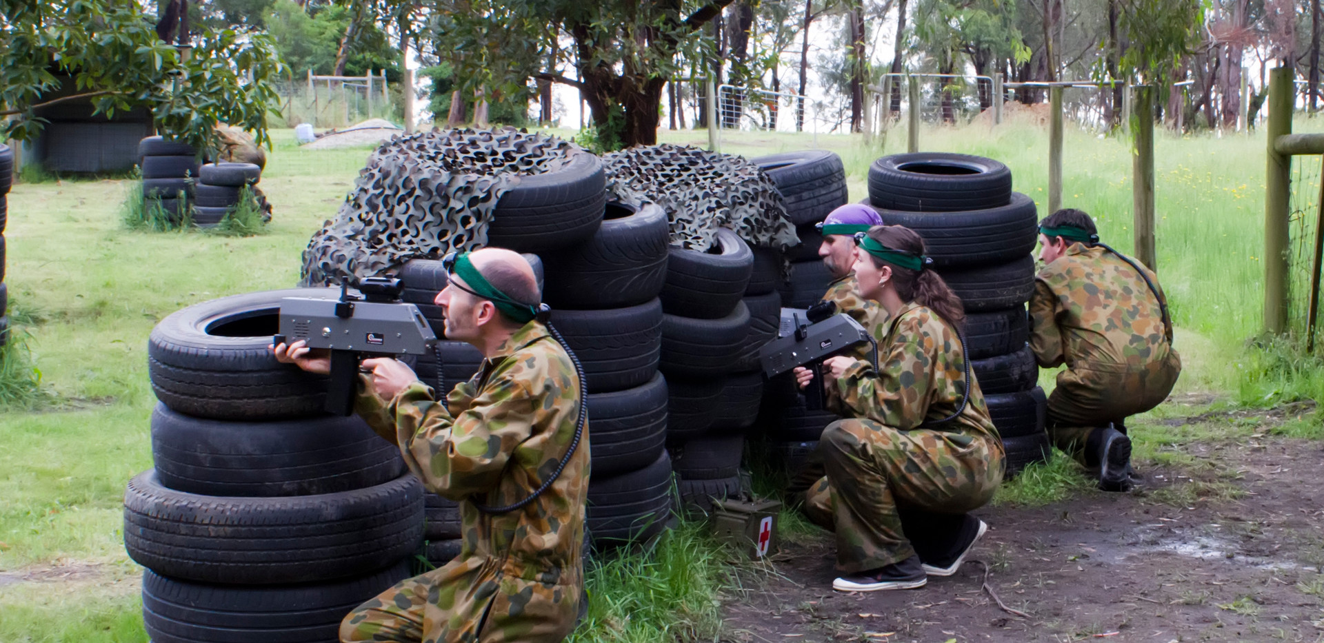 Laser Skirmish - Activity available for booking