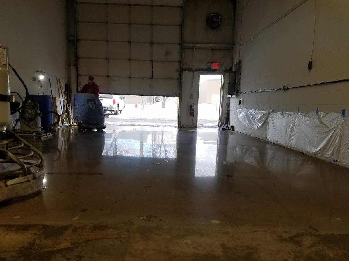 Wet Concrete polishing