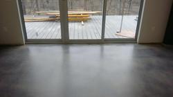 Semi gloss finish, ground and polish