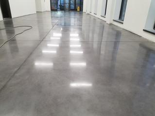 The art of Concrete polishing