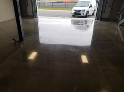 One of the many garages at M1