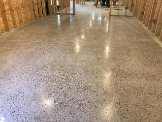 Basement concrete polishing In Shelby Twp