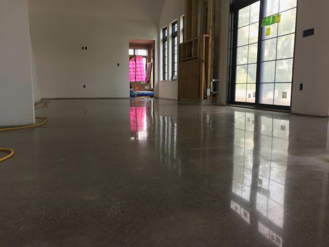 Polished concrete by Impact