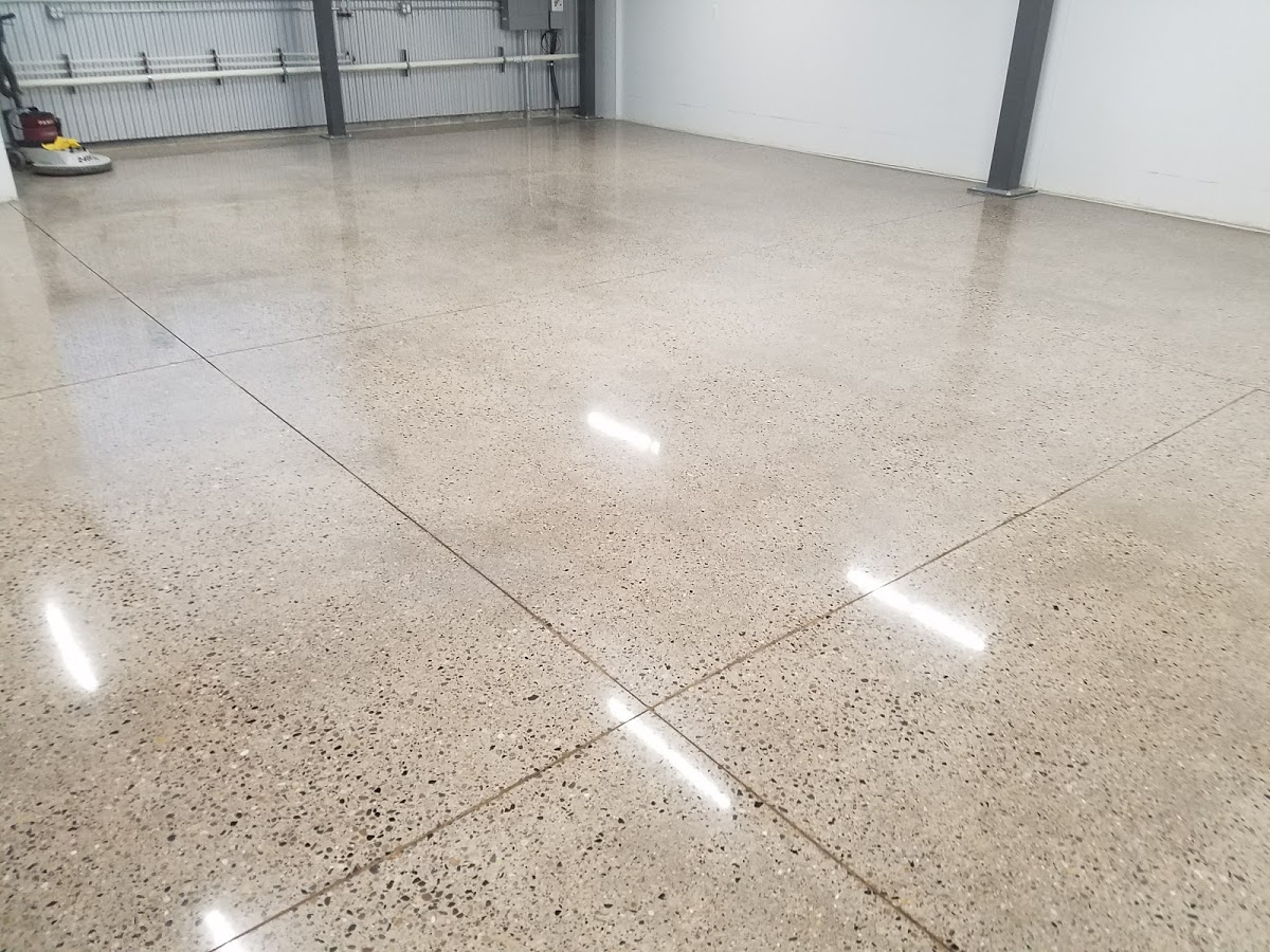 High polished concrete Detroit