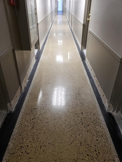 Concrete floor in Westland