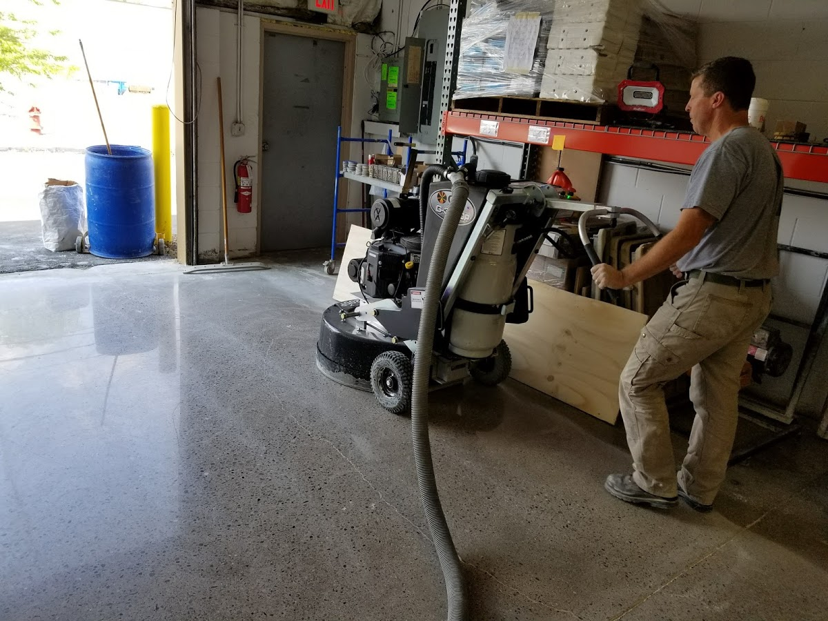 Concrete polishing Detroit metro