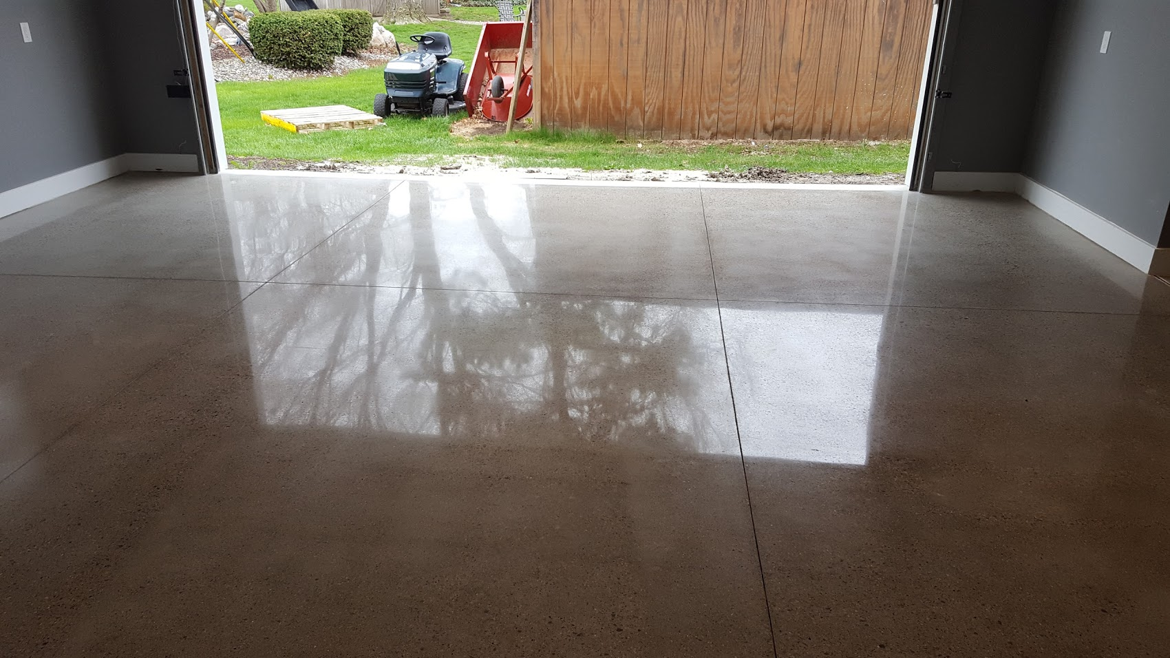 Polished concrete Shelby Twp