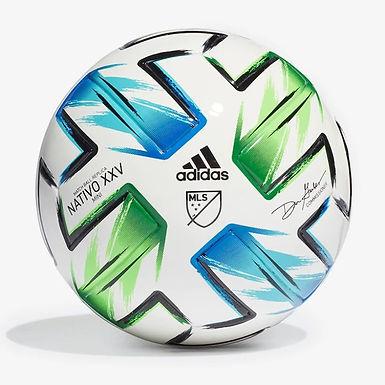 Adidas MLS Training Ball WHITE/SOLAR GREEN/GLORY BLUE