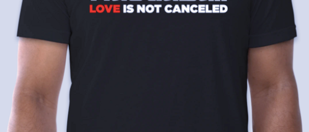 HustlaBall Love is not Canceled T-Shirt