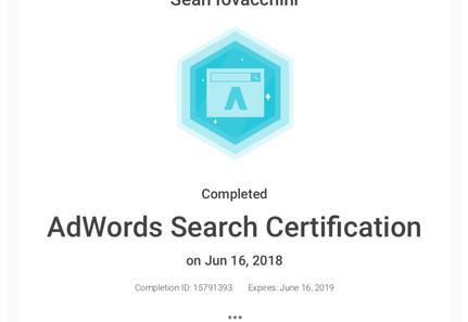 BeeFound.ca Google Adwords Search Certification.jpg