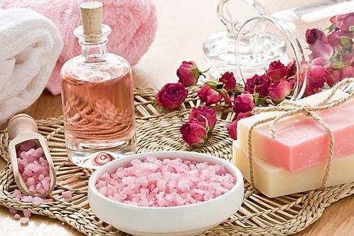 Mazatlán Pink Salt Scrub