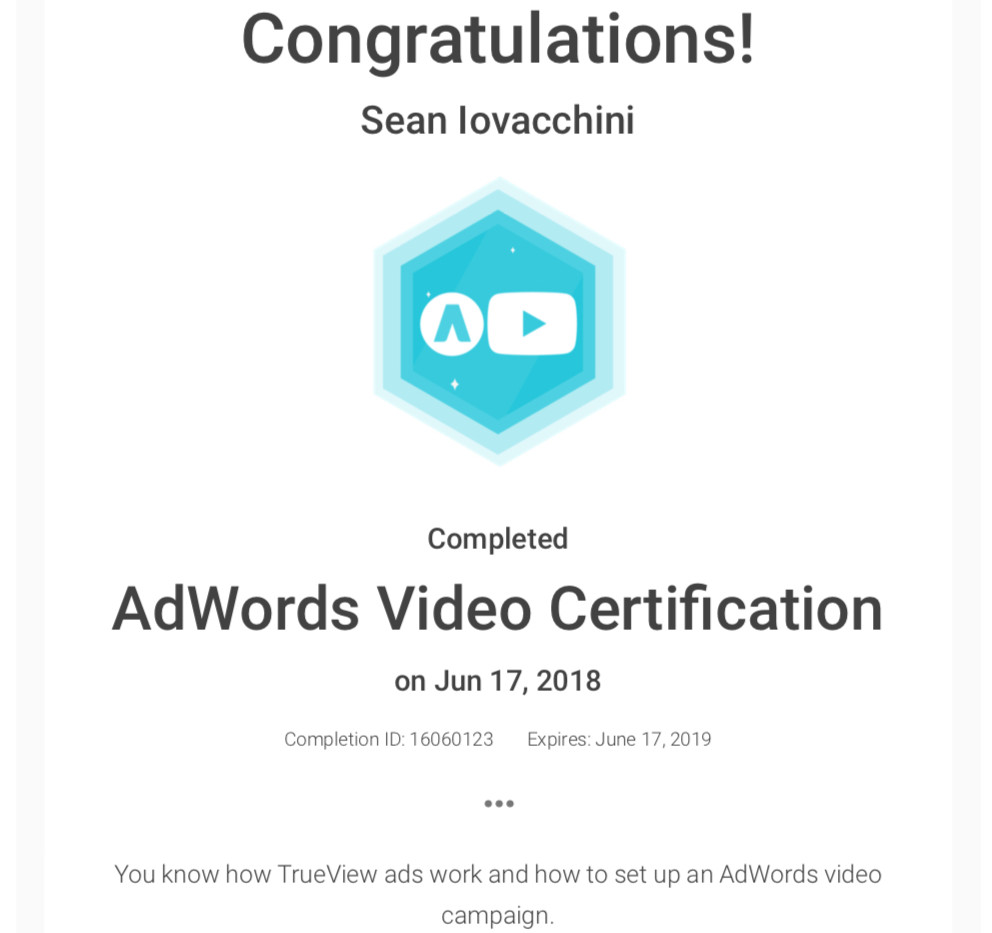 BeeFound.ca Google Adwords Video Certification.jpg