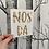 Thumbnail: Nos Da - approx 5x6inch - gold broken glass foil