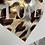 Thumbnail: LOVE - 4x6approx. - animal print foil