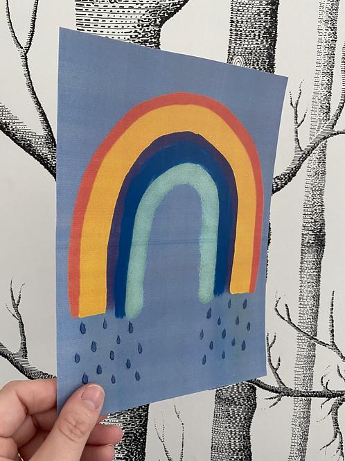 Rainbow - A5 - colour print (2)