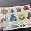 Thumbnail: Autumnal planner/journal sticker sheet