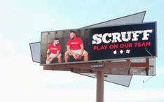 Scruff Goes To The Super Bowl