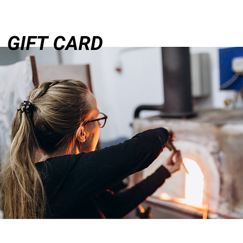Gift Card (with a tiny glass present)