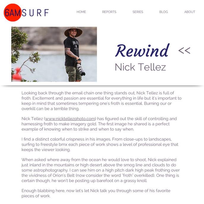 6am Surf : Rewind