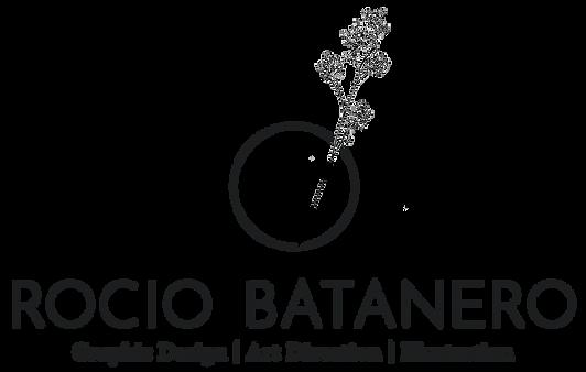 LOGO ROCIO BATANERO - GRAPHIC DESIGN CEN