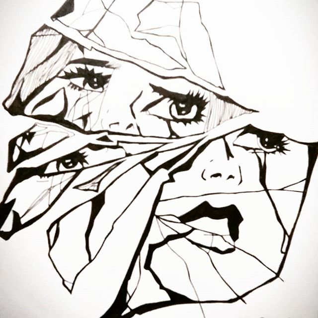 הפנים של הפרעת אישיות