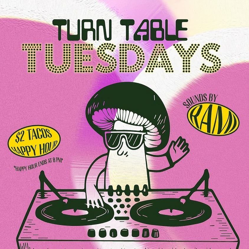 Turn-Table Tuesday's for Happy Hour at Melinda's