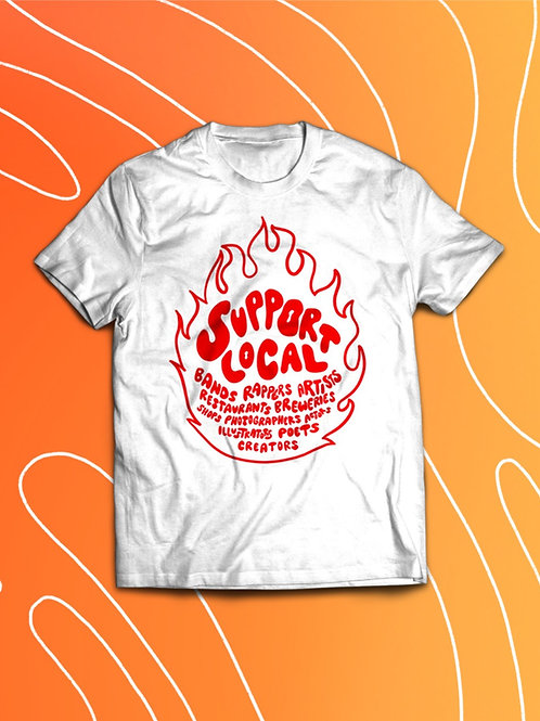 Support Local Summer Tee