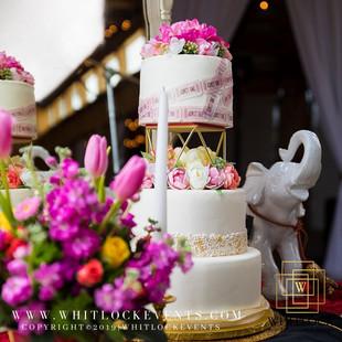 Carnival Bride 2- Wedding Cake