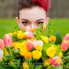 Carnival Bride- Bride & Bridal Bouquet