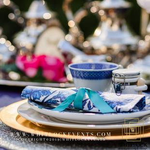Elephant Tea Party Table Setting