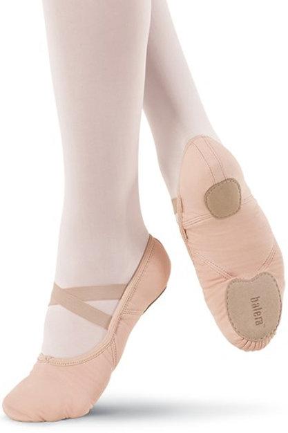B20 Canvas Split Sole Ballet Shoe