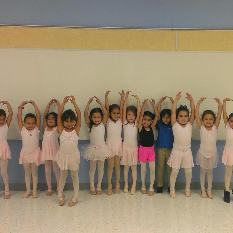 Ballet Class @ IDEA Weslaco Pike - 2017