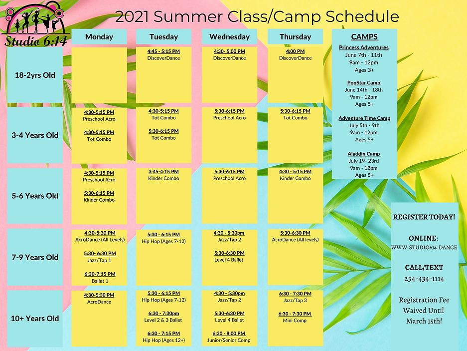 Studio 6_14 2021 Spring Dance Schedule.p