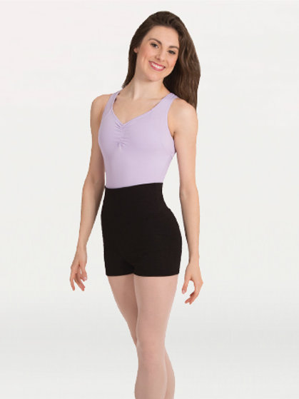 P971 Roll Down Waist Shorts