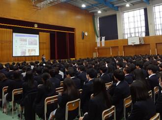 【レポート】東京都立東大和南高校 講演会