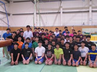 慶應器械体操部 トレーニング