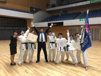 慶應空手部女子 創部初東日本大学選手権第3位