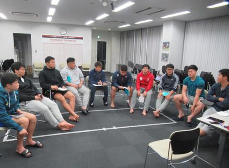 早稲田大学ラグビー部 ファーストミーティング