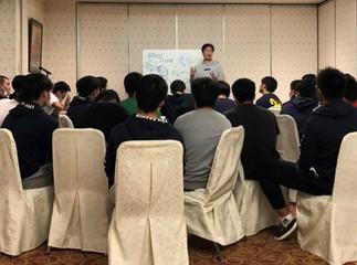桐蔭ラグビー部 関東新人大会トレーニング