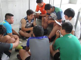 桐蔭学園ラグビー部 トレーニング
