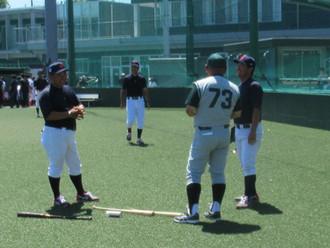 JR東日本野球部 vs東京六大学選抜(大学侍ジャパン)