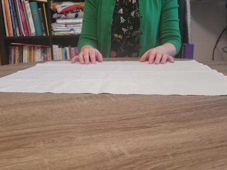 How to Fold a Self Contained Fat Quarter