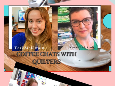 Quilt Chat with Tori!