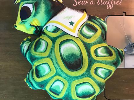 Tips to sew a stuffie!