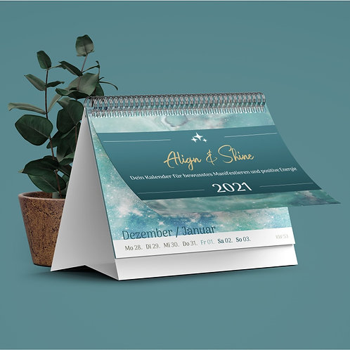 "Kalender 2021 ""Align & Shine"""